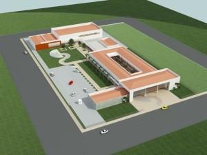 Com capacidade para 1.200 alunos, a escola será referência para Curitiba e região metropolitana